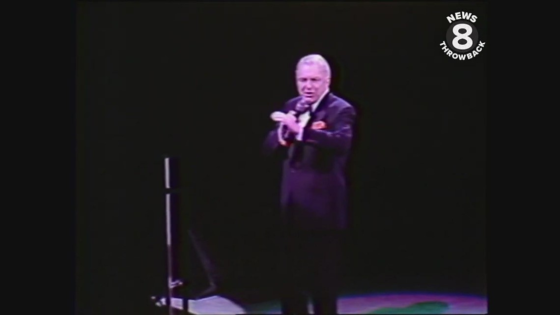 Frank Sinatra concert at San Diego Sports Arena 1991