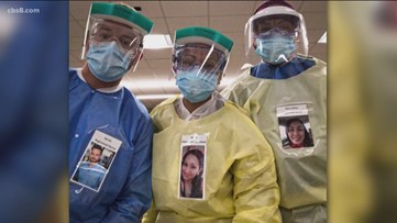 San Diego healthcare worker sparks 'friendly faces' idea