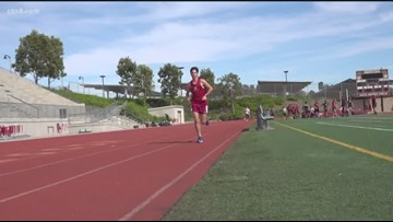 Local San Diego high school student prepares for the Boston Marathon