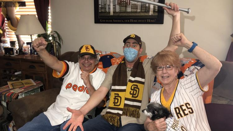 'Padre Super Fans' open their home on 'Opening Day'
