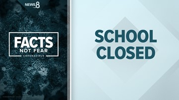 Which schools are closed for coronavirus in San Diego County and when will they reopen for distance learning?