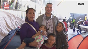 Beyond the Border: Family of US citizen crosses border to claim asylum