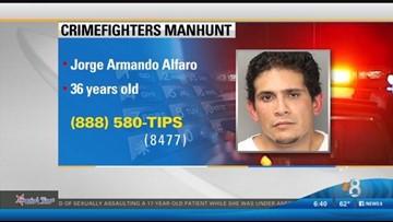 CrimeFighters Alert: Manhunt for Jorge Armando Alfaro