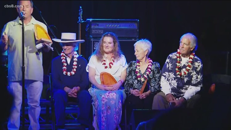 Surfing legends inducted into San Diego Surfing Hall of Fame