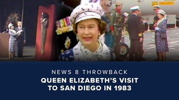 News 8 Throwback: Queen Elizabeth's visit to San Diego in 1983