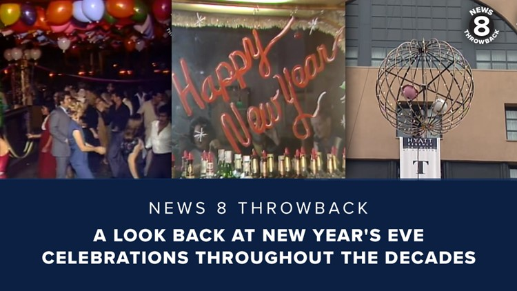 News 8 Throwback: A look back at New Year's Eve celebrations throughout the decades