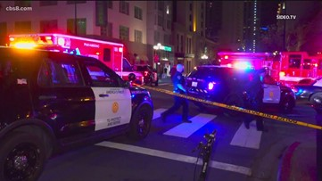 Multiple people shot, one dead after two overnight shootings downtown