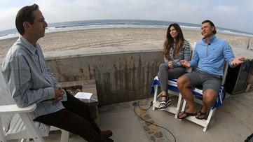 Earth 8: Shawn Styles talks sea level rise with Trevor Hoffman
