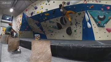 Milkin' San Diego: Indoor Rock Climbing
