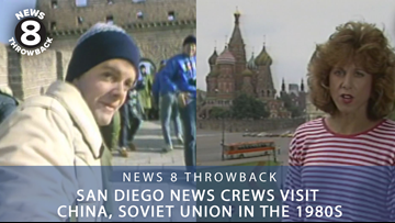 News 8 Throwback: San Diego news crews visit China, Soviet Union in the 1980s