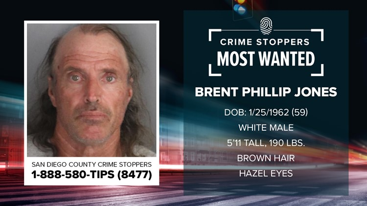 Crime Stoppers Most Wanted: Brent Phillip Jones