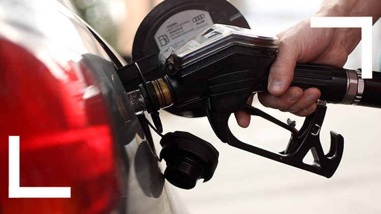 San Diego gas prices on the decline