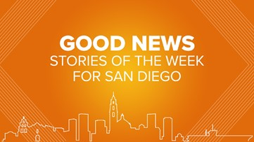 Send the Love: Good News stories of the week for San Diego