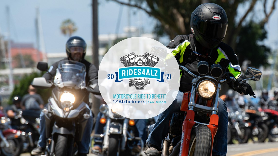 Rides4ALZ: Motorcycle ride to benefit Alzheimer's San Diego on July 10