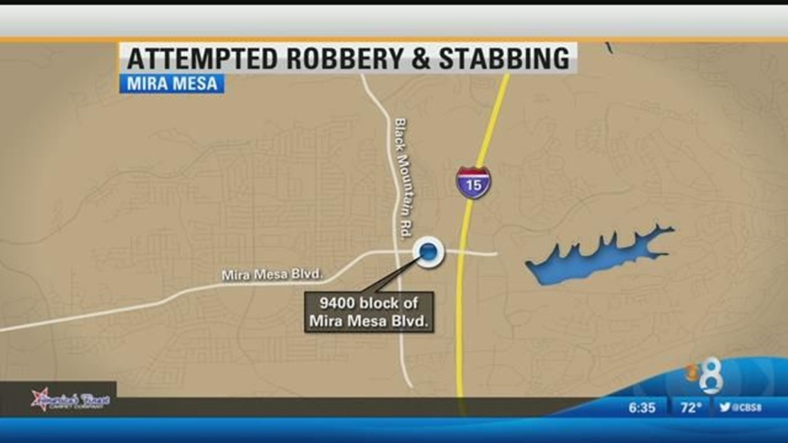 Police seek suspects in attempted robbery in Mira Mesa
