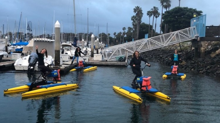 Mission Bay hydrobike
