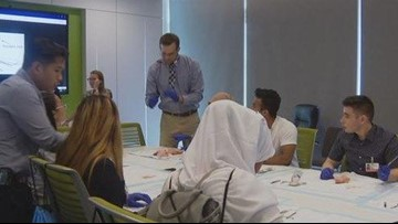 San Diego high school 'Optimus' scholars explore career paths in medical sciences