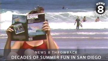 News 8 Throwback: Decades of summer fun in San Diego