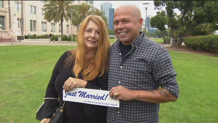 San Diego County offers 'Walk-Up Wednesday' marriage services at the Marriage Hut