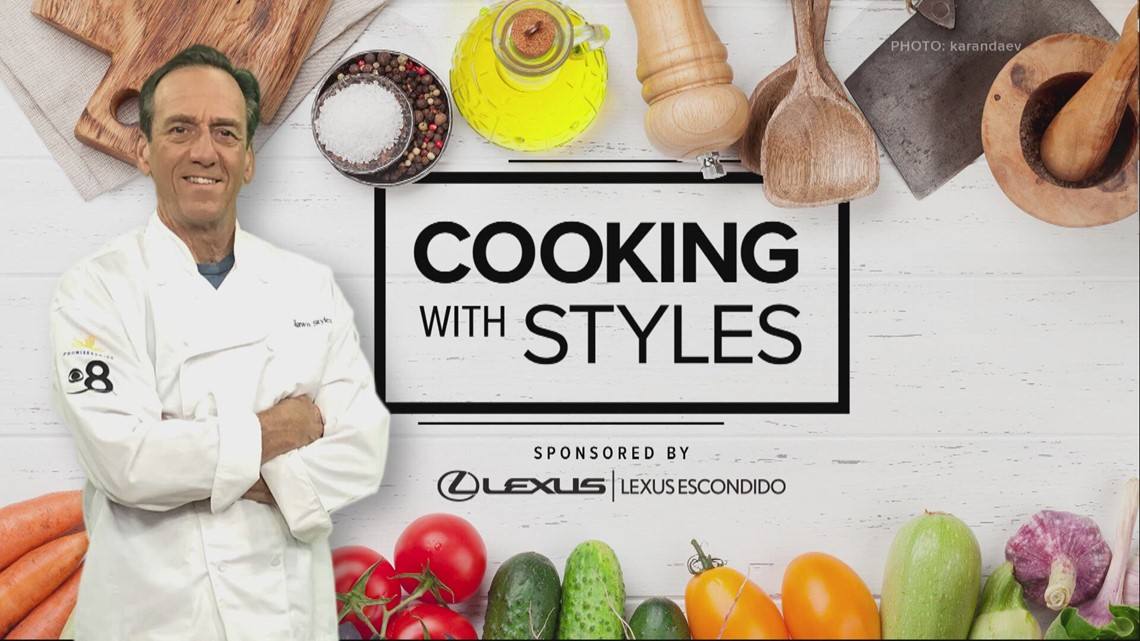 Cooking with Styles: Braised Shallots and Baked Cream of Leeks