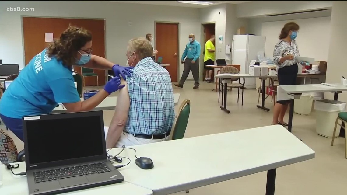 San Diego County prepares for possibility of vaccine booster shots