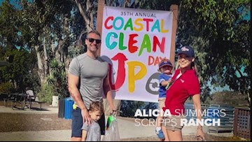 2019 Coastal Clean Up in San Diego