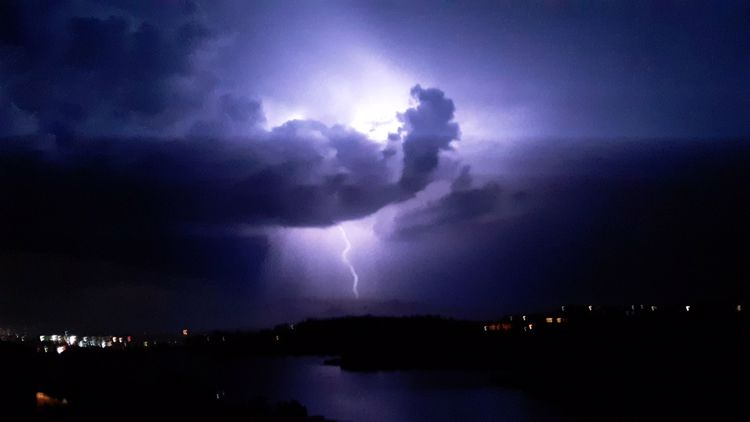 PHOTOS: Lightning strikes in San Diego