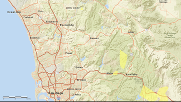 San Diego prepares for Santa Ana winds, SDG&E warns 1,000+ customers of potential power shutoffs