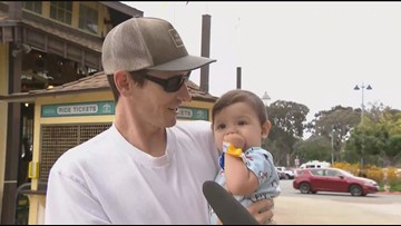 Dads and families celebrate Father's Day in the San Diego sunshine