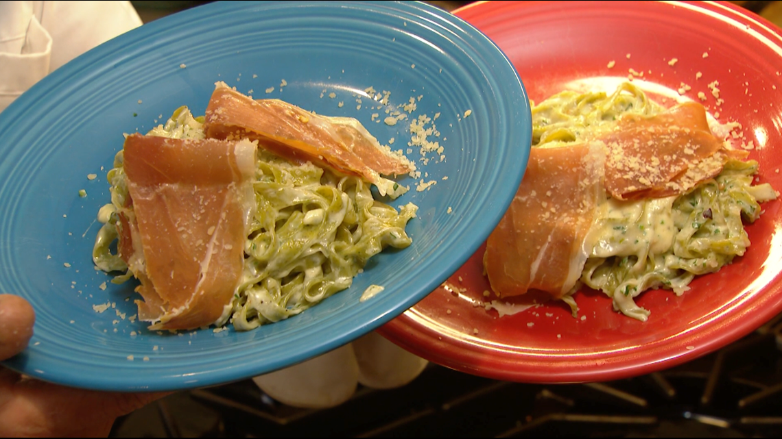 Cooking with Styles: Fettuccini Alfredo