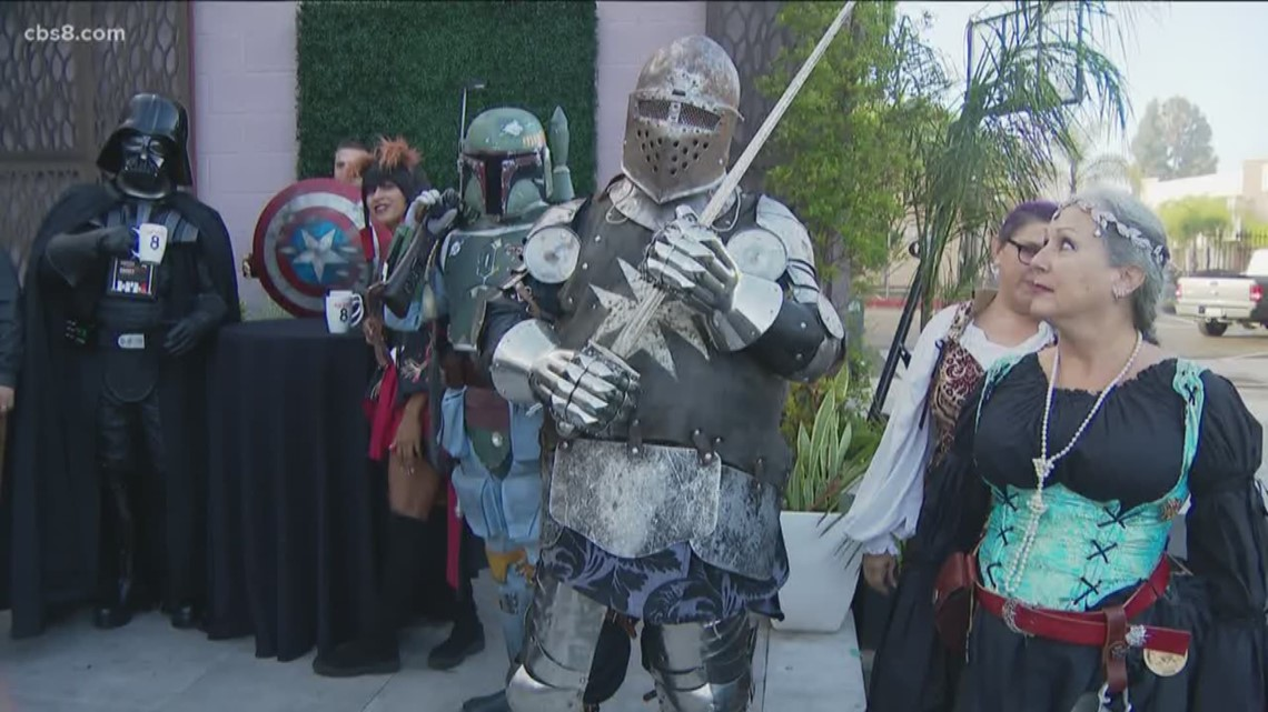 Cosplayers unite in San Diego for Fangaea Con