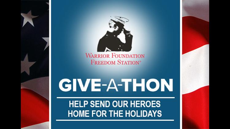 Thank you: Warrior Foundation Freedom Station Giveathon 2020