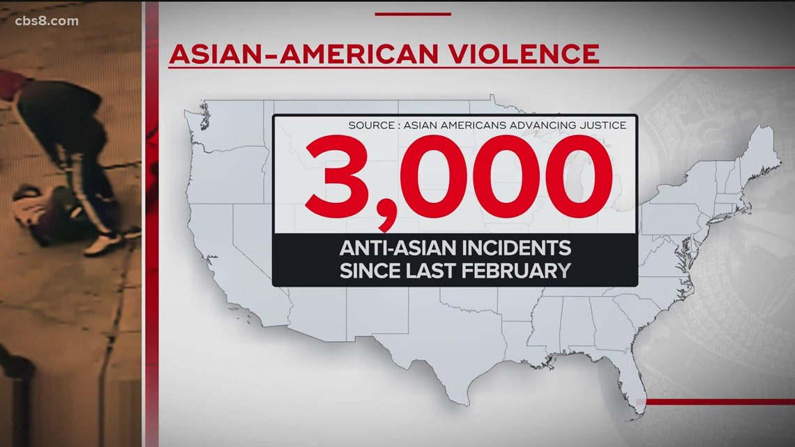 www.cbs8.com: Attacks against Asian American community on the rise
