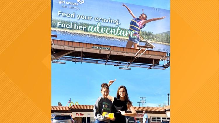 girl scout billboard