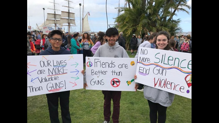 March for Our Lives- Downtown 6