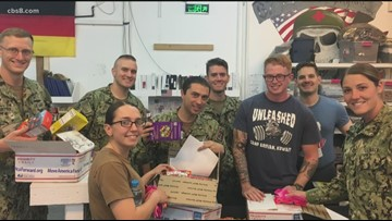 San Diegans send help to Navy sailors on extended deployment