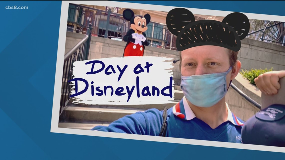What it's like to visit Disneyland after the park reopened