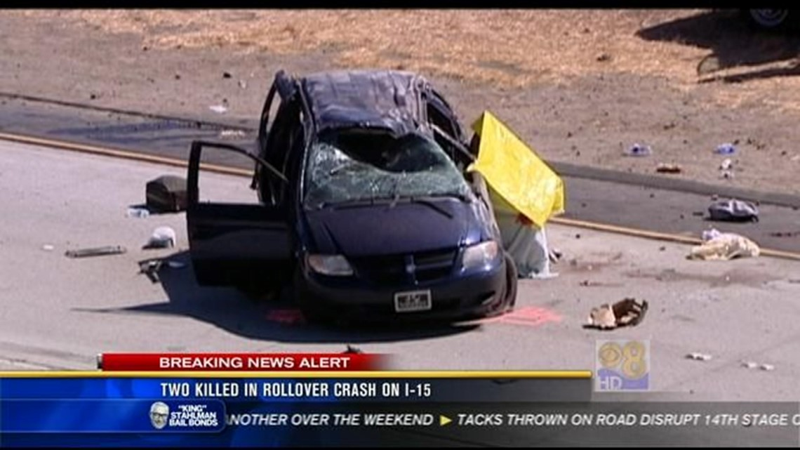 Two boys killed in I-15 car crash identified | cbs8 com