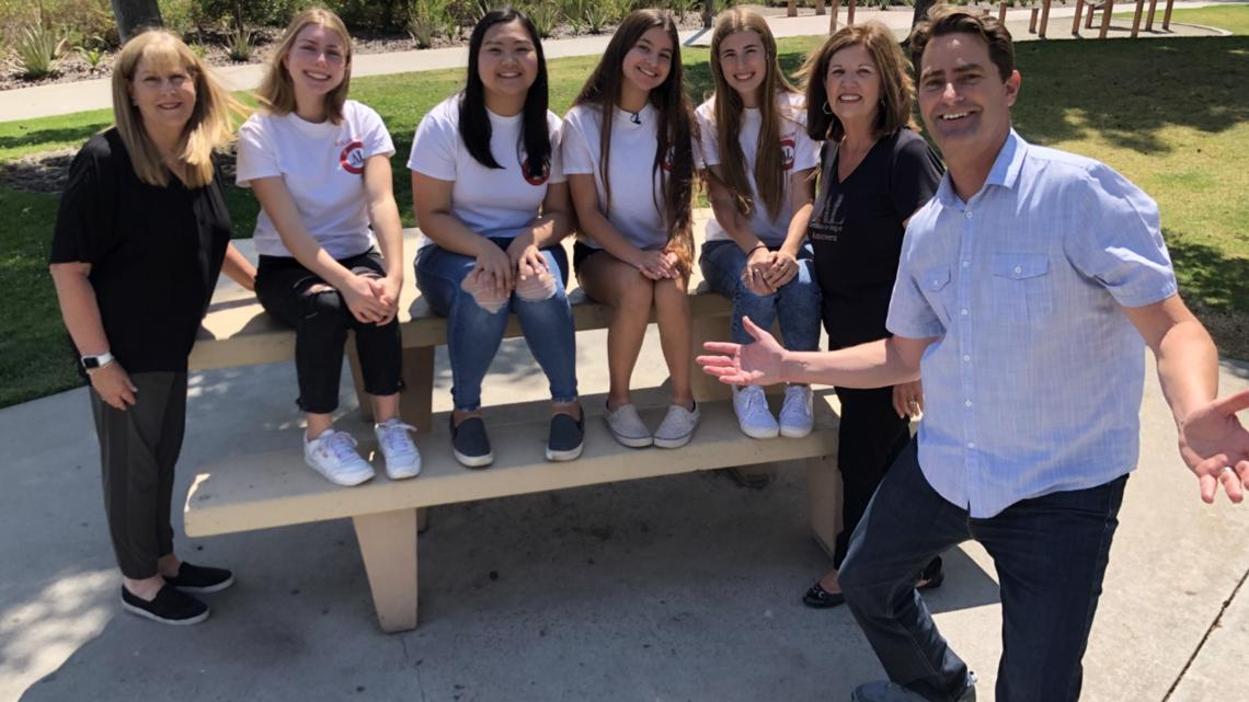 'Assisteens' of Greater San Diego teach importance of character to students