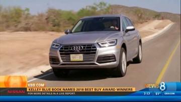 Kelley Blue Book names 2018 best buy award winners