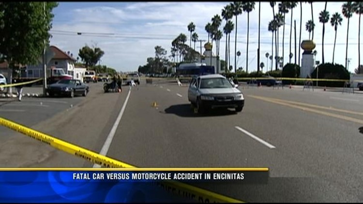 Police investigate fatal motorcycle crash in Encinitas | cbs8 com
