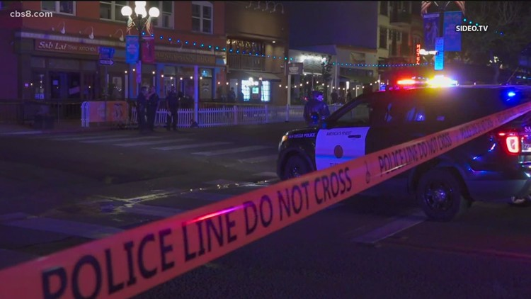 One killed after overnight shooting in Gaslamp Quarter