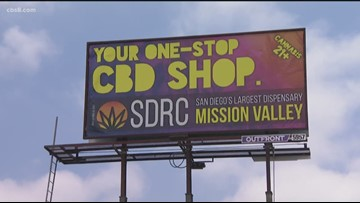 Pot billboard ads could be banned within 1,000 feet of San Diego schools