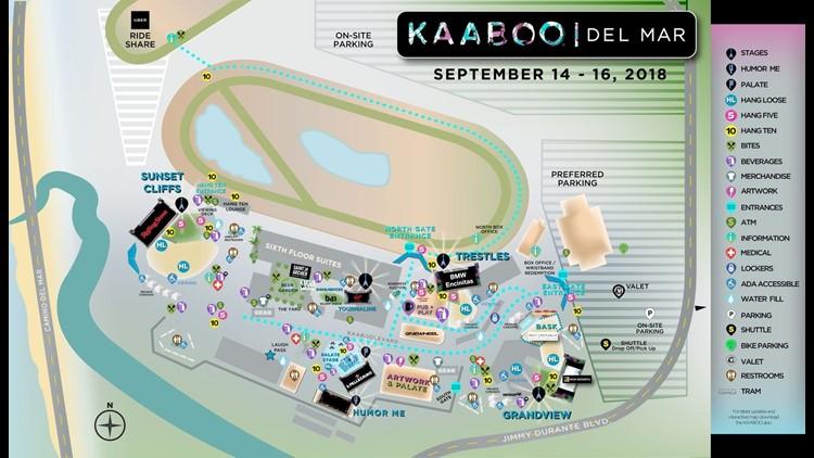 Kaaboo Map