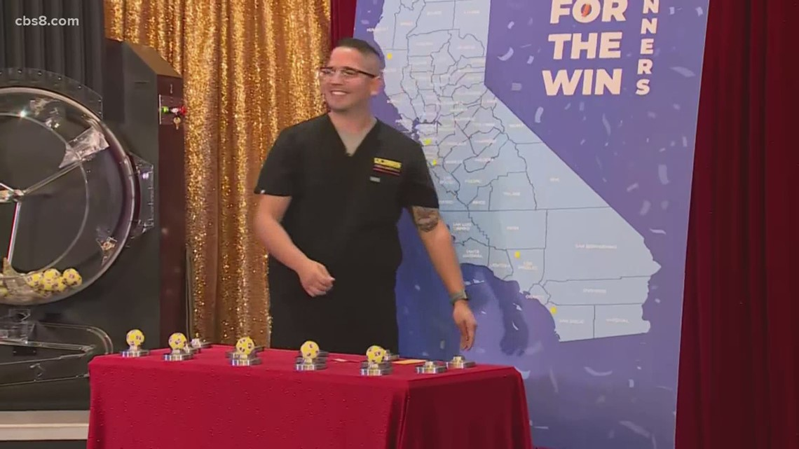 First five lottery balls in 'Vax for the Win' lottery