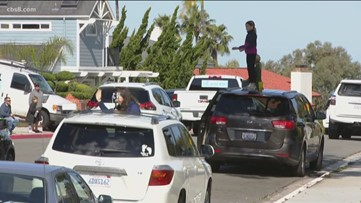 Teacher caravans hit the streets to cheer up students in north San Diego