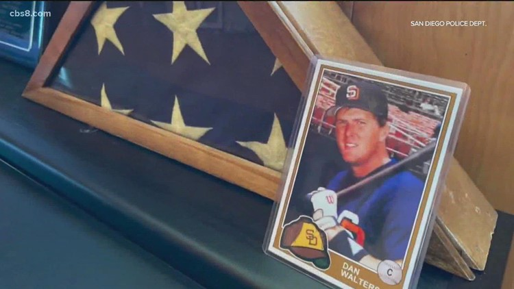 Funeral for former SDPD officer and San Diego Padre, Dan Walters to be held Wednesday