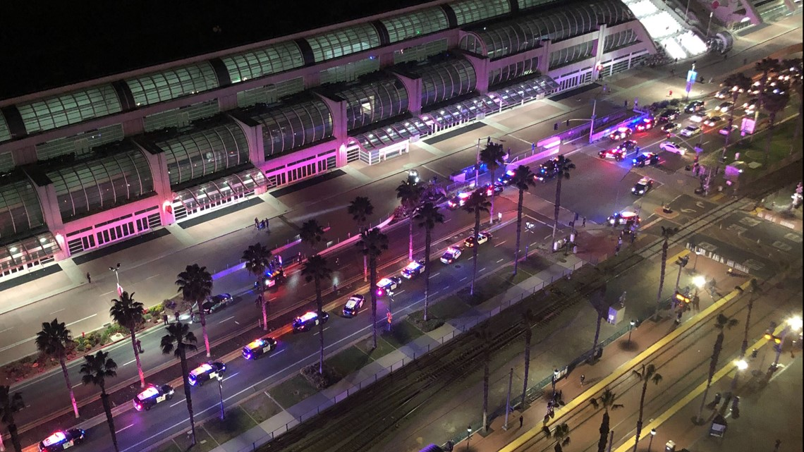 Police apprehend individual after shots fired near San Diego Convention Center