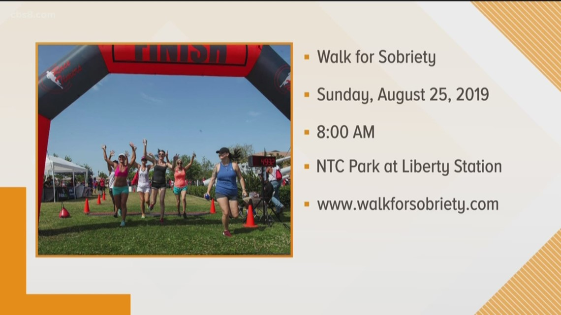Celebrate recovery at the 7th Annual Walk for Sobriety at Liberty Station