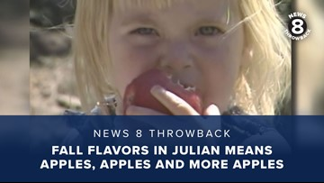 News 8 Throwback: Fall flavors in Julian means apples, apples and more apples